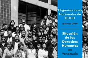 Organizaciones nacionales de derechos humanos. Informe 2019. PROVEA