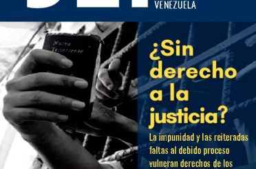Boletín 36 de Justicia, Encuentro y Perdón. Octubre 2020
