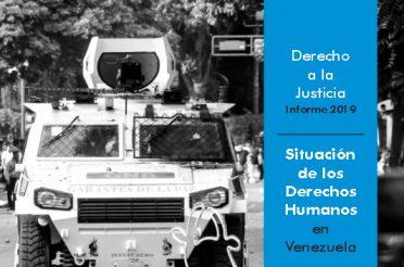 Derecho a la Justicia. Informe 2019. PROVEA