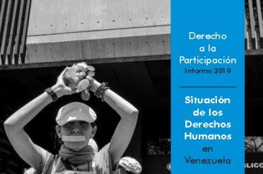 Derecho a la Participación. Informe 2019. PROVEA