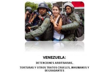 Detenciones arbitrarias, torturas y otros tratos crueles, inhumanos y degradantes. Febrero-Octubre 2014