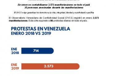 Informe OVCS. Enero 2019
