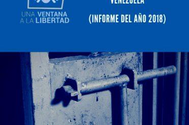 Proyecto monitoreo a la situación de los centros de detención preventiva en Venezuela 2018