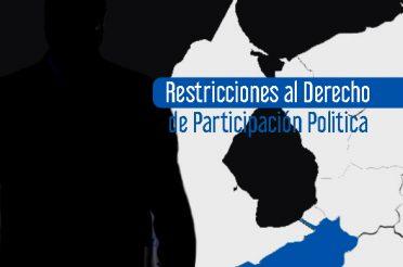 Restricciones al derecho de participación política ODH ULA 2018