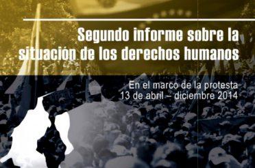 Segundo informe sobre la situación de los derechos humanos en el marco de la protesta. 13 de abril – diciembre 2014