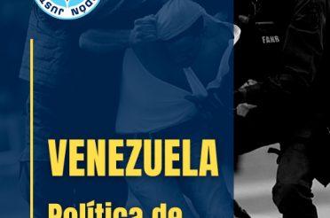 Venezuela, política de represión y persecución