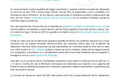 Boletín 32 de FundaRedes. Conflicto armado en Apure, facciones guerrilleras y Estado enfrentados por el poder