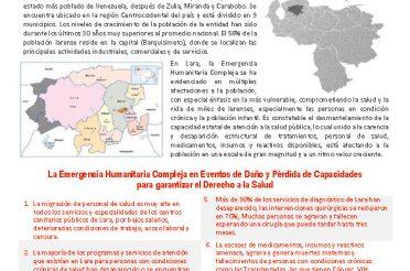 Reporte Lara EHC Derecho a la Salud Noviembre 2018