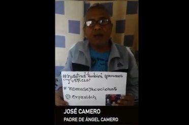 Ángel Camero fue víctima de una presunta ejecución extrajudicial
