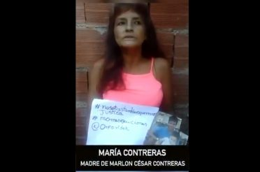 Justicia para Marlon César Contreras