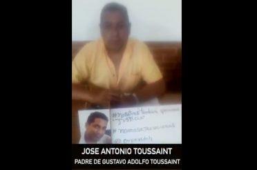 Justicia para Gustavo Adolfo Toussaint