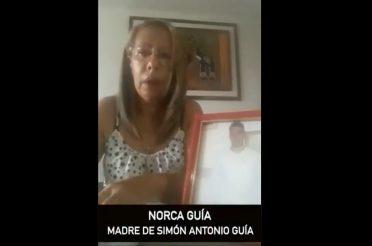 Justicia para Simón Antonio Guía