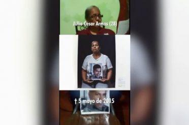 Julio Armas, víctima del CICPC