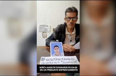Luis Tejeiro, víctima de la violencia policial